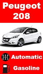 for rent Peugeot 208