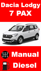 for rent Dacia Lodgy
