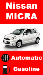 for rent Nissan Micra